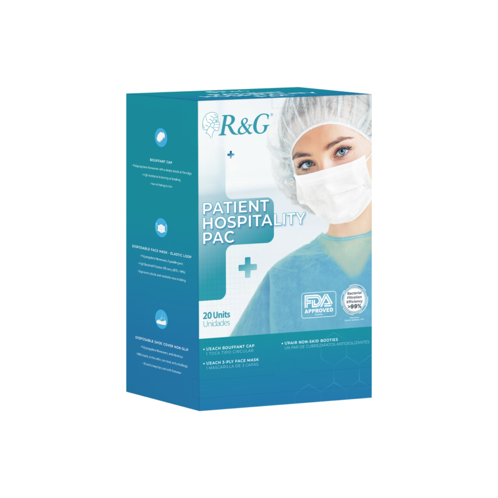 The STEWART Medical Supply and R&G Patient Hospitality Pac